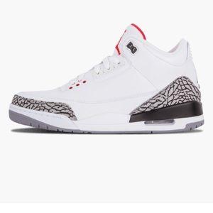 "Jordan Retro 3 ""White Cement"""